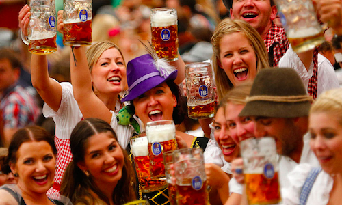2nd Munich Beer Festival Opens in Kunming